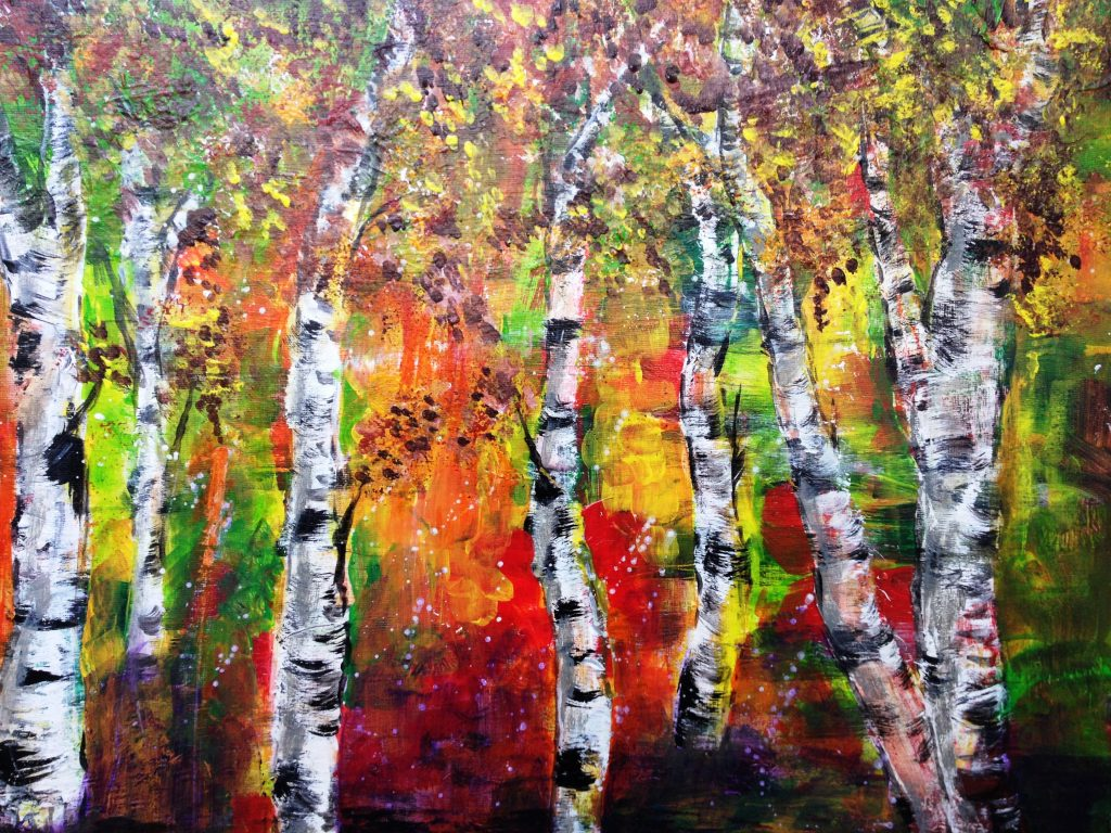 Veronika Seebass, Malkurs, Rosenheim, Pösling, Kunst, Malerei, Kreativität, kreativ, Zeichnung, zeichnen, Tusche, Öl, Aquarell, Natur, Druckgrafik
